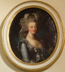 Portrait de Marie Antoinette d'après Vigée Le Brun